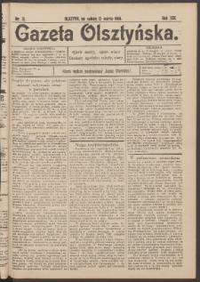 Gazeta Olsztyńska, 1904, nr 31