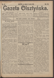 Gazeta Olsztyńska, 1904, nr 37