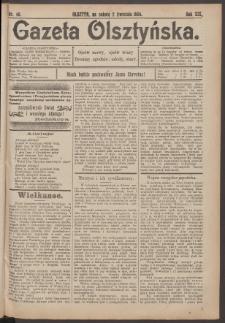 Gazeta Olsztyńska, 1904, nr 40