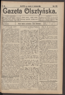 Gazeta Olsztyńska, 1904, nr 46