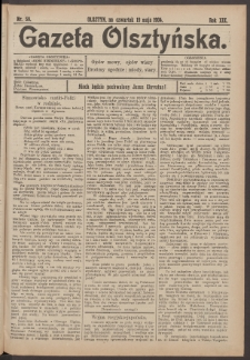 Gazeta Olsztyńska, 1904, nr 59