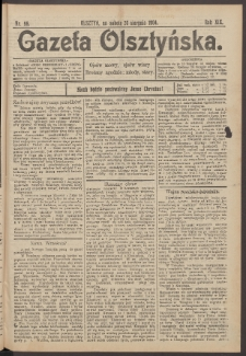 Gazeta Olsztyńska, 1904, nr 98
