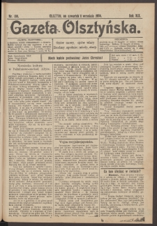Gazeta Olsztyńska, 1904, nr 106