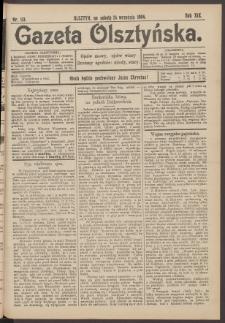 Gazeta Olsztyńska, 1904, nr 113