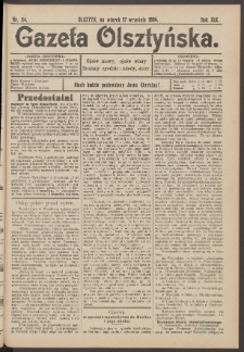 Gazeta Olsztyńska, 1904, nr 114