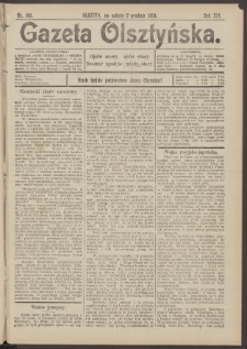Gazeta Olsztyńska, 1904, nr 149