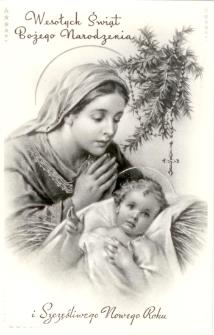 Wesołych Świąt Bożego Narodzenia i szczęśliwego Nowego Roku. 1