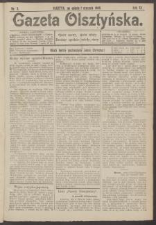 Gazeta Olsztyńska, 1905, nr 3