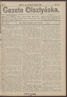 Gazeta Olsztyńska, 1905, nr 5