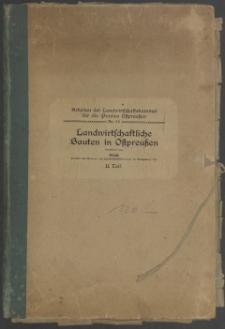 Landwirtschaftliche Bauten in Ostpreußen. T. 2