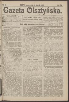 Gazeta Olsztyńska, 1905, nr 11
