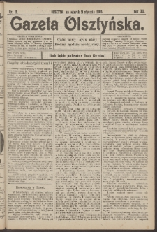 Gazeta Olsztyńska, 1905, nr 13