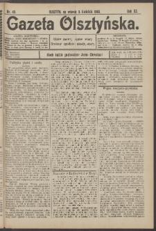 Gazeta Olsztyńska, 1905, nr 43