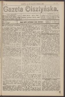 Gazeta Olsztyńska, 1905, nr 47