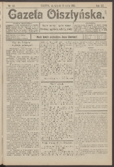 Gazeta Olsztyńska, 1905, nr 60