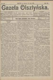 Gazeta Olsztyńska, 1905, nr 63