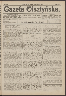 Gazeta Olsztyńska, 1905, nr 65