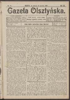 Gazeta Olsztyńska, 1905, nr 72
