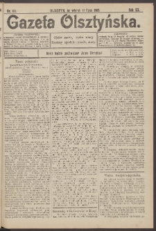 Gazeta Olsztyńska, 1905, nr 81
