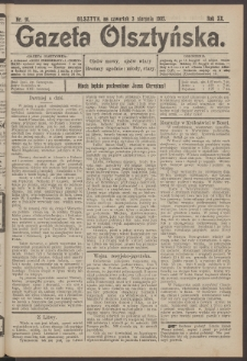 Gazeta Olsztyńska, 1905, nr 91