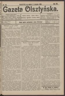 Gazeta Olsztyńska, 1905, nr 95