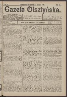 Gazeta Olsztyńska, 1905, nr 97