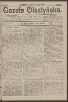 Gazeta Olsztyńska, 1905, nr 98