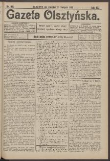 Gazeta Olsztyńska, 1905, nr 100