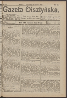 Gazeta Olsztyńska, 1905, nr 113