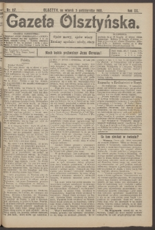 Gazeta Olsztyńska, 1905, nr 117
