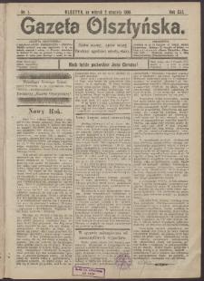 Gazeta Olsztyńska, 1906, nr 1