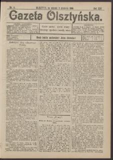 Gazeta Olsztyńska, 1906, nr 4