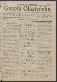 Gazeta Olsztyńska, 1906, nr 9