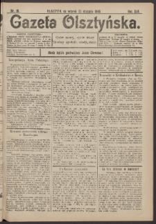 Gazeta Olsztyńska, 1906, nr 10