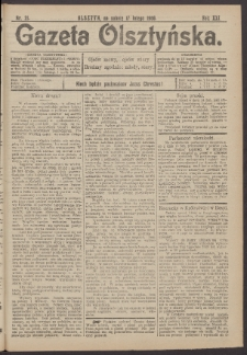 Gazeta Olsztyńska, 1906, nr 21