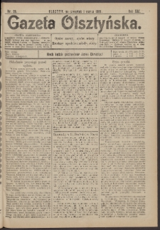 Gazeta Olsztyńska, 1906, nr 26