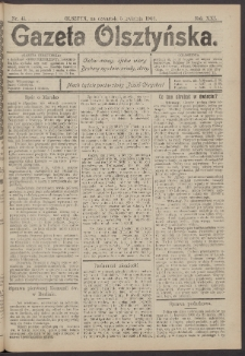 Gazeta Olsztyńska, 1906, nr 41