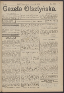 Gazeta Olsztyńska, 1906, nr 45