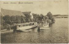 Masuren - Nikolaiken - Dampfer- Landungsplatzt