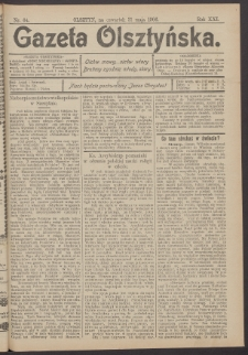 Gazeta Olsztyńska, 1906, nr 64