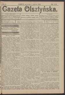Gazeta Olsztyńska, 1906, nr 65
