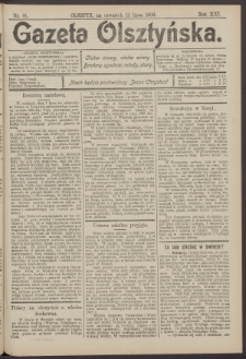 Gazeta Olsztyńska, 1906, nr 81