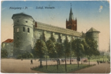 Königsberg i. Pr. Schloß, Westseite