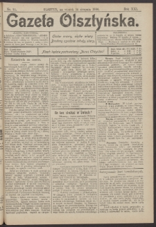 Gazeta Olsztyńska, 1906, nr 95