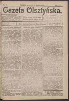 Gazeta Olsztyńska, 1906, nr 98