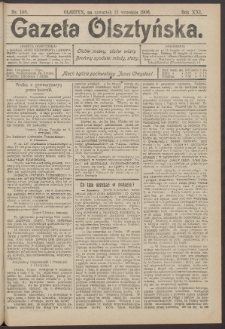 Gazeta Olsztyńska, 1906, nr 108