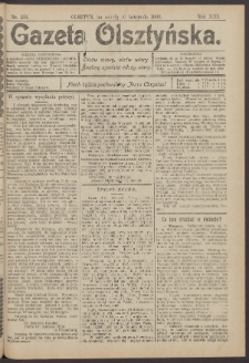 Gazeta Olsztyńska, 1906, nr 133