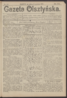 Gazeta Olsztyńska, 1906, nr 148