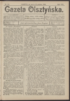 Gazeta Olsztyńska, 1906, nr 151