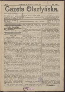 Gazeta Olsztyńska, 1907, nr 1